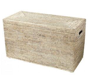 ROTIN ET OSIER - renforts bois kassy - Truhe