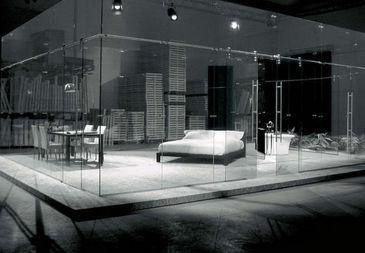 Raumeinrichtung  Aufbau für Raum Einrichtung - Glas - CASALI | Decofinder