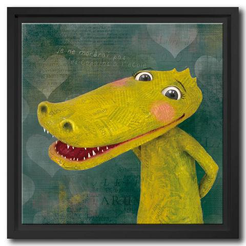 DECOHO - Dekorative Gemälde für Kinder-DECOHO-Le crocodile