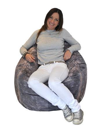 MEROWINGS - Bodenkissen-MEROWINGS-Stone Pod floor Cushion