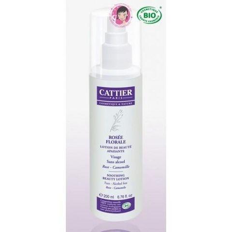 CATTIER PARIS - Pflegecreme-CATTIER PARIS-Lotion de beauté bio Apaisante - Rosée Florale - 2