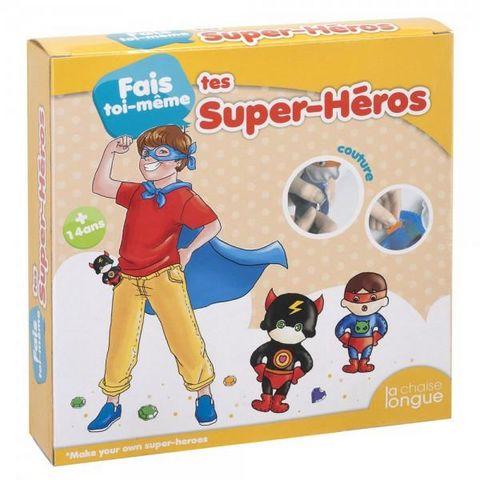 La Chaise Longue - Stofftier-La Chaise Longue-Kit Super Heros