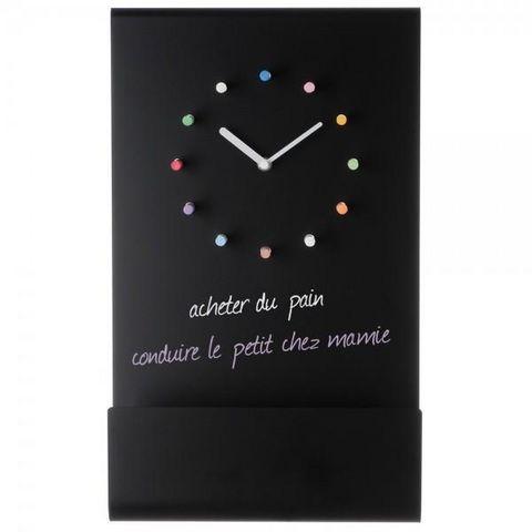 La Chaise Longue - Pendelwanduhr-La Chaise Longue-Horloge tableau + craies
