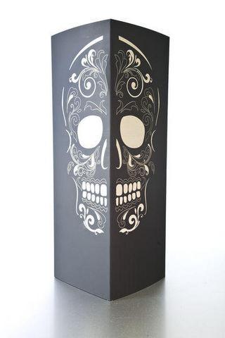 W-LAMP - Tischlampen-W-LAMP-Skull