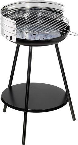 Dalper - Holzkohlegrill-Dalper-Barbecue à charbon rond en inox New clasic