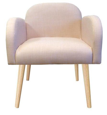 Cotton Wood - Sessel-Cotton Wood-Fauteuil en toile effet lin Oslo