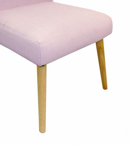 Cotton Wood - Stuhl-Cotton Wood-Chaise en toile effet lin Oslo