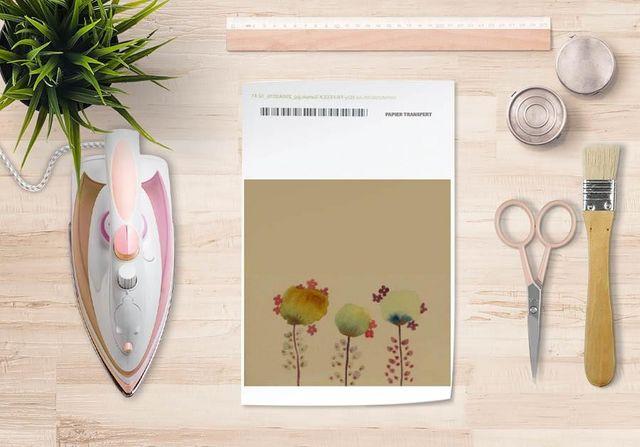 la Magie dans l'Image - Verlegung-la Magie dans l'Image-Papier transfert 3 Poppies