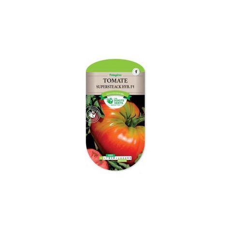 LES DOIGTS VERTS - Saatgut-LES DOIGTS VERTS-Semence Tomate Supersteack Hyb F1