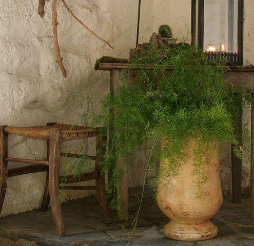 Le Chêne Vert - Gartenamphore-Le Chêne Vert