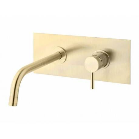 PAFFONI - Andere Sonstiges Badezimmer-PAFFONI-Mitigeur lavabo encastré, brushed gold (LIG103HGSP/M)