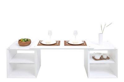 Miliboo - Rechteckiger Couchtisch-Miliboo-U2YDD CINE DINNER VOLUME