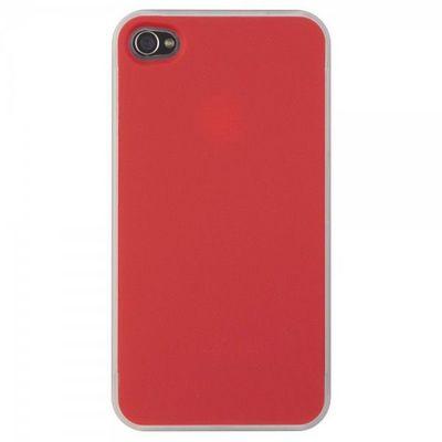 La Chaise Longue - Mobiltelefonhülle-La Chaise Longue-Etui Iphone 4 Coloré duo bleu/rouge