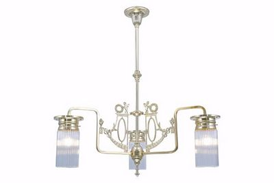 PATINAS - Kronleuchter-PATINAS-Venice 3 armed chandelier I.
