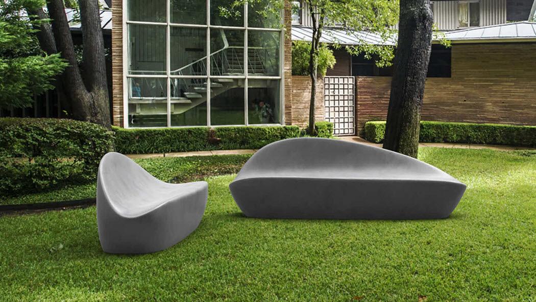 GRAVELLI Sofá para jardín Salones completos de jardín Jardín Mobiliario  |