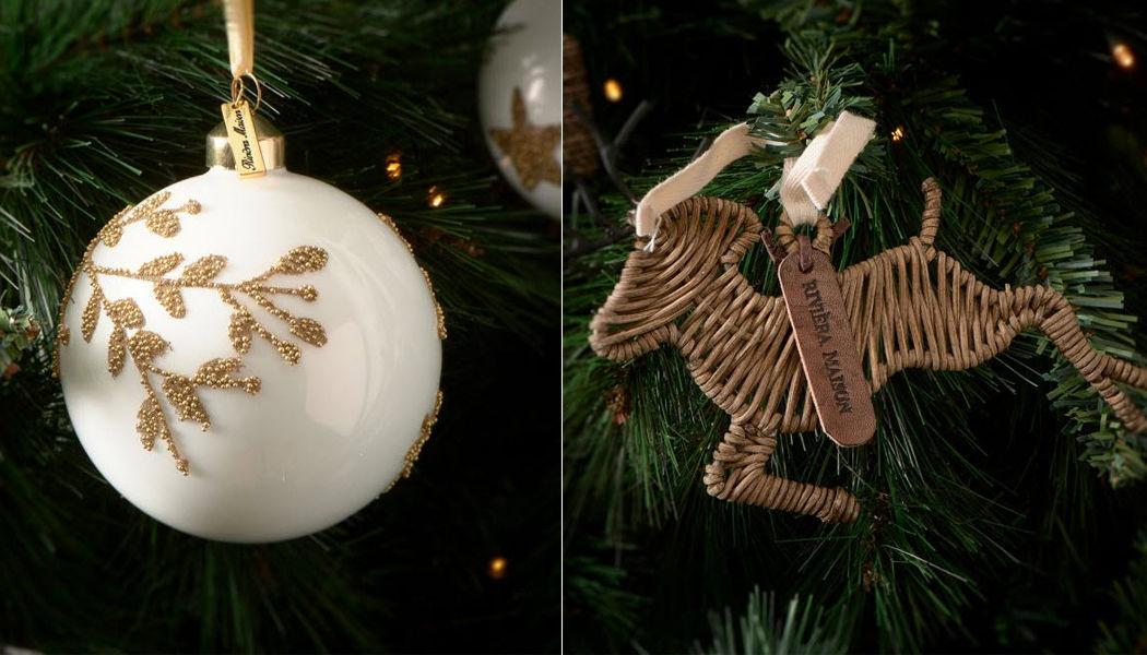Riviera Maison Bola de Navidad Decoración y motivos navideños Navidad y Fiestas  |