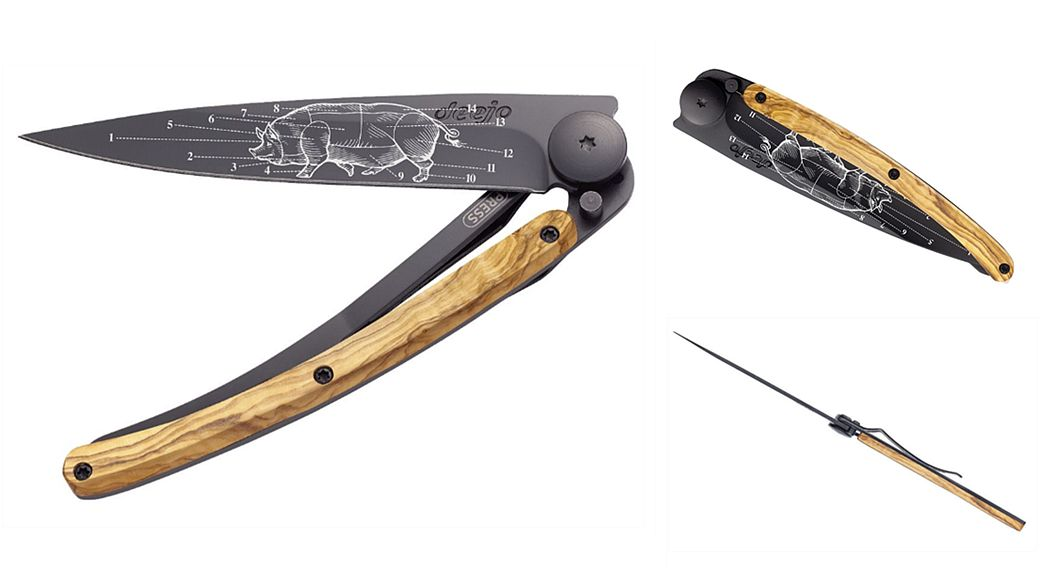DEEJO Cuchillo plegable Cuchillos Cubertería   