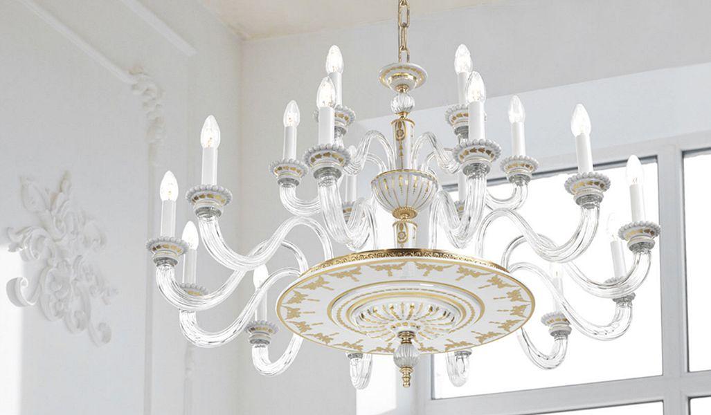 Giulia Mangani Araña Murano Luminarias suspendidas Iluminación Interior   