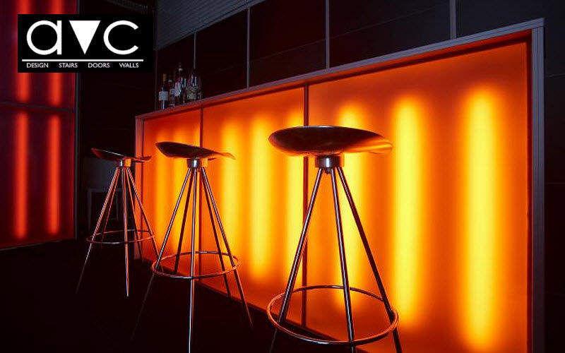 Avc Barra de bar luminosa Bar Mesas & diverso  |