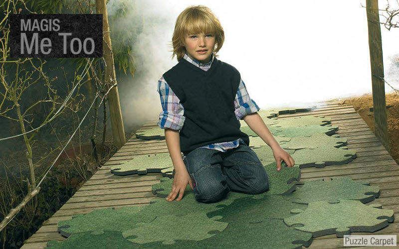Magis Alfombra para niño Decoración infantil El mundo del niño Dormitorio infantil  