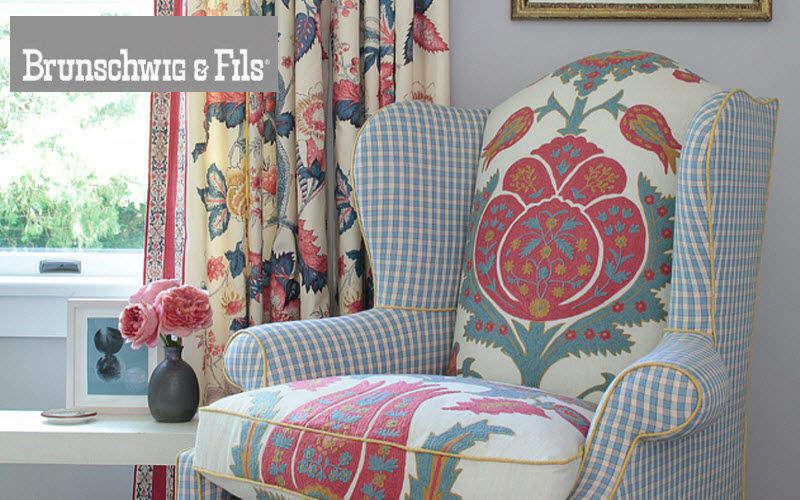 Brunschwig Et Fils Tejido de decoración para asientos Telas decorativas Tejidos Cortinas Pasamanería  |