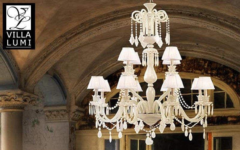 VILLA LUMI Araña Luminarias suspendidas Iluminación Interior Comedor | Clásico