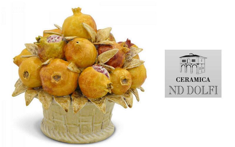 Ceramica Nd Dolfi Centro de mesa Decoraciones de mesa Mesa Accesorios Comedor | Clásico