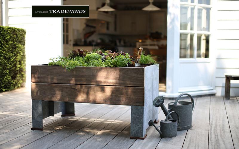 TradeWinds Jardinera Jardineras Jardín Jardineras Macetas  Terraza | Rústico