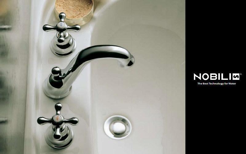 Nobilia Mezclador lavabo 3 orificios Grifería Baño Sanitarios  |