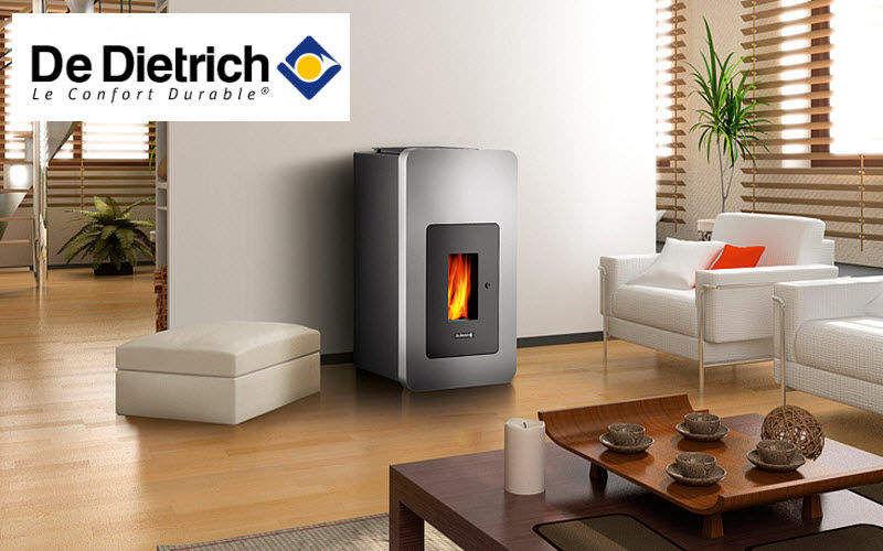 DE DIETRICH THERMIQUE Estufa de madera Estufas e instalaciones de calefacción Chimenea  |