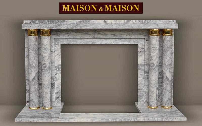 MAISON & MAISON Chimenea de hogar abierto Chimeneas Chimenea  |