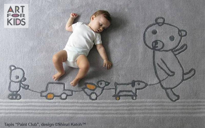 ART FOR KIDS Alfombra para niño Decoración infantil El mundo del niño  |