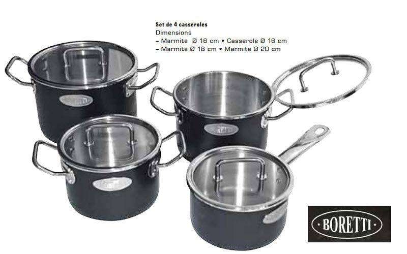 BORETTI Marmita Cacerolas Cocción  |