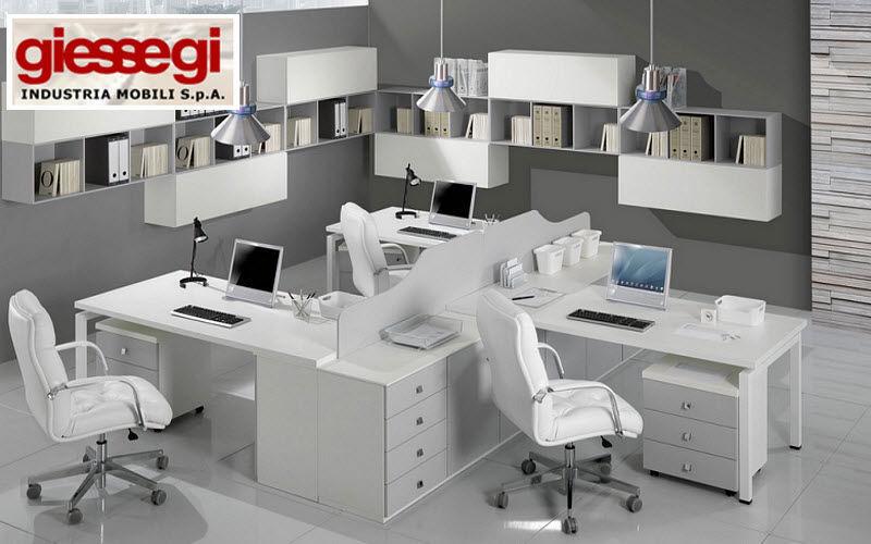 GIEssEGI Mesa de despacho operacional Mesas y escritorios Despacho Despacho | Design Contemporáneo