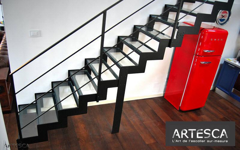 ARTESCA Escalera recta Escaleras/escalas Equipo para la casa  |