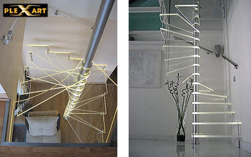 Lepage-Plexart Escalera con tramo curvo Escaleras/escalas Equipo para la casa  |