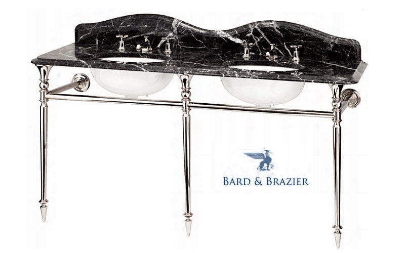 BARD & BRAZIER Mueble de baño dos senos Muebles de baño Baño Sanitarios    Rústico