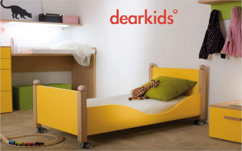 DEARKIDS Cama para niño Dormitorio infantil El mundo del niño   |
