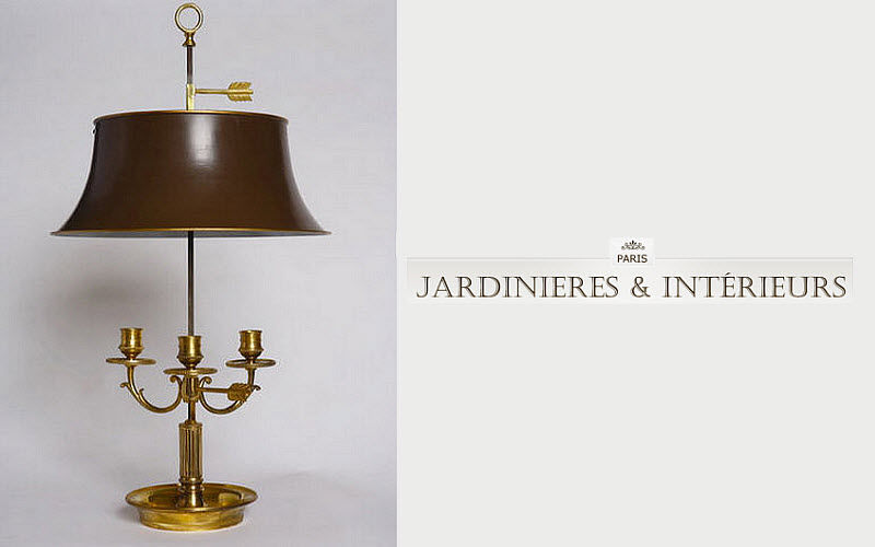 Jardinieres & Interieurs Lámpara con pantalla Lámparas Iluminación Interior  | Clásico