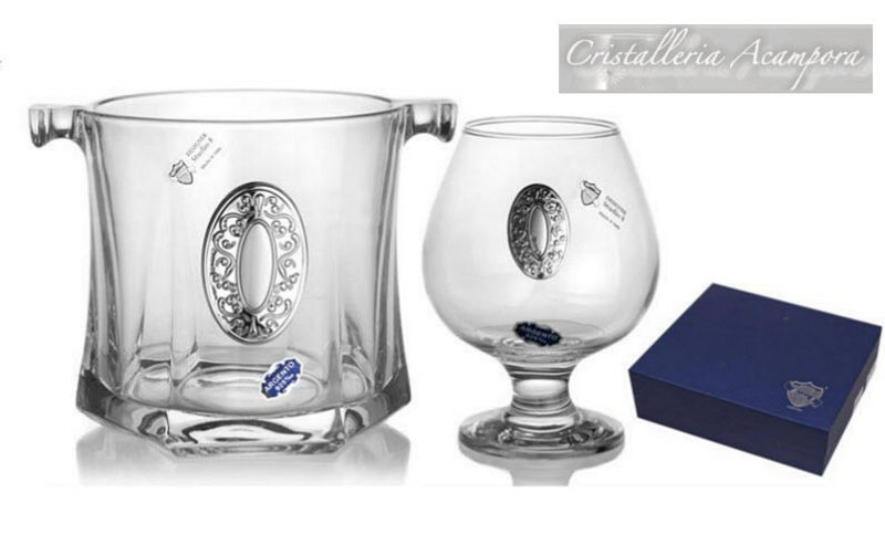 Cristalleria Acampora Cubo de hielo Enfriadores de bebidas Mesa Accesorios  |