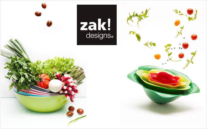 Zak ! Designs Ensaladera Ensaladeras Vajilla  |