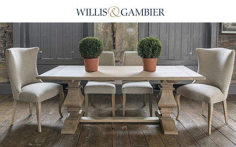 Willis & Gambier Mesa de comedor rectangular Mesas de comedor & cocina Mesas & diverso Comedor | Rústico