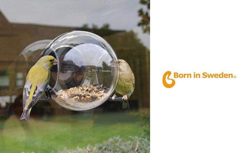 BORN IN SWEDEN Comedero de pájaros Ornamentos de exterior Jardín Diverso  |