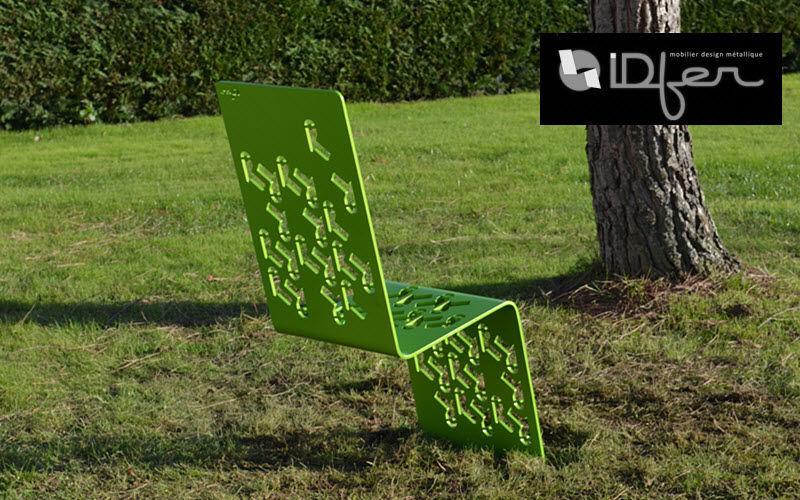 IDFER Silla de jardín Sillas de jardín Jardín Mobiliario  |