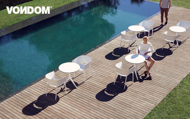 VONDOM Mesa de jardín Mesas de jardín Jardín Mobiliario  |
