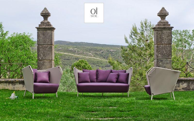OI SIDE Sofá para jardín Salones completos de jardín Jardín Mobiliario  |