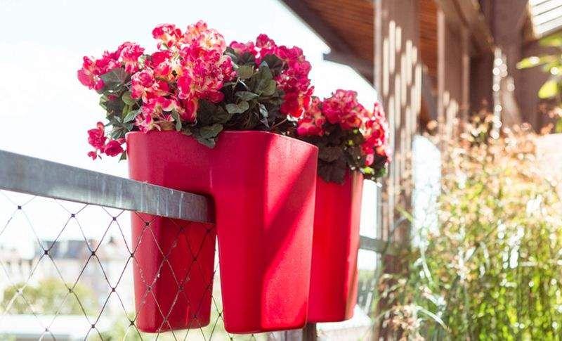 OTIUM Balconera Jardineras Jardín Jardineras Macetas   |