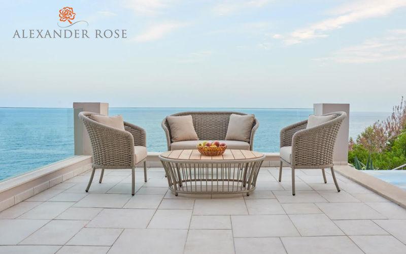 Alexander Rose Sofá para jardín Salones completos de jardín Jardín Mobiliario  |
