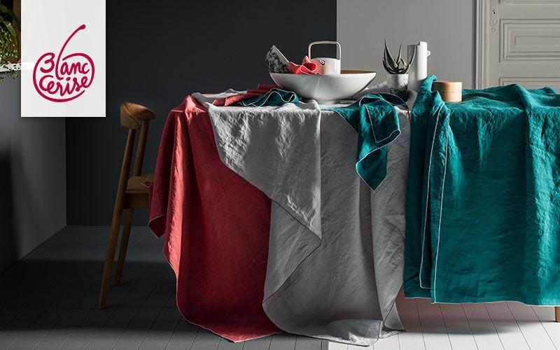 BLANC CERISE Mantel rectangular Manteles & paños de cocina Ropa de Mesa  |