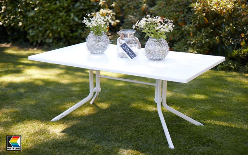 Kettler Mesa de jardín Mesas de jardín Jardín Mobiliario  |